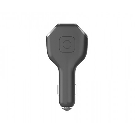 Microfon Spion GSM NanoSIM 4G Integrat in Incarcator Auto 12V Dual Port USB - Triangulatie GPS - Inregistrare la distanta - SMS Control [2XB]