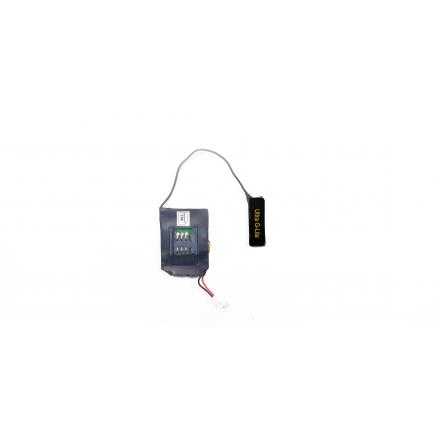 Microfon Spion cu Acumulator Modular si Antena GSM cu Amplificare Ultra G-Lite  [GXWZ]