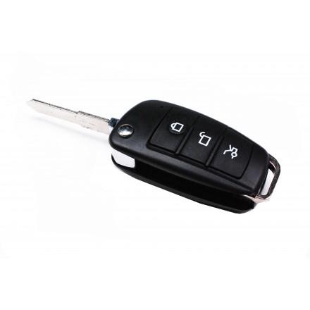 Cheie Auto tip Briceag cu Microcamera Spion  HD 1280x960 Nightvision G-Focus [S48]