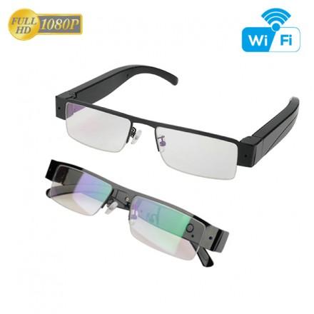 Ochelari cu Camera 1080HD Live Wifi 128GB MicroSD - Senzor de miscare - Smartech [GYWR9]