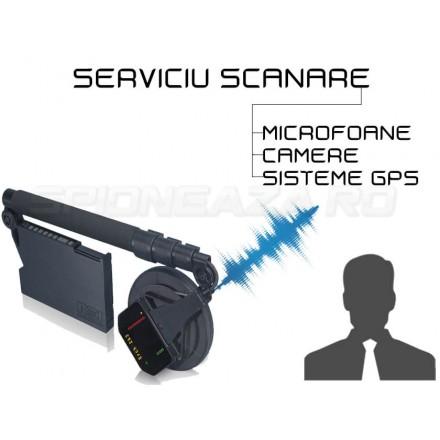 Serviciu Profesional de Scanare Anti-Spionaj