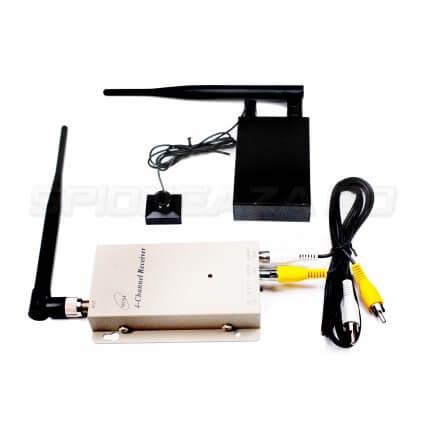 Kit Hi-Tech Nasture-Camera cu Transmisie Video Wireless [PRO-PS6]