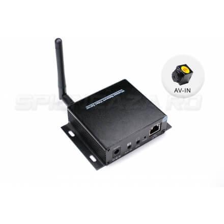 Kit Hi-Tech MicroServer + Microcamera  Spion AV-IN CCD 520TVL [NAPK-51]