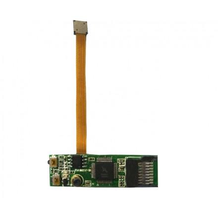 Camera Video Spion 3GP 352x288 - Lentila 5x5mm  - 32GB - 80 ore - Segmentare Durata (1/30) - Senzor de Miscare [3P]