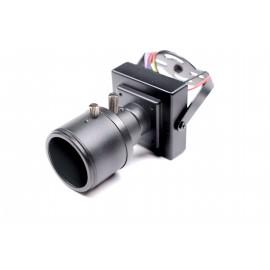 Mini Camera BNC 600TVL Sony CCD 2.8-12mm Focus-Zoom [CRY-15T]