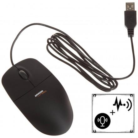 Mouse cu Microfon + Reportofon - SMS Control - HiPro [PK915]