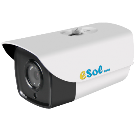 Camera de Exterior - 8MP - lentila 5mm - POE integrat - IR 60m - H.264 [ES4K/60 ]