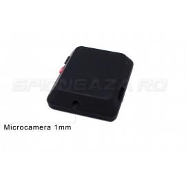 Microfon Spion GSM/MMS + Microcamera Pinhole 1mm si Reportofon  [AVR-XR09]