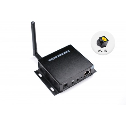 Kit Hi-Tech MicroServer + Microcamera  Spion AV-IN CCD 520TVL [NAPK-51]