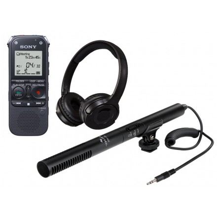 Kit Microfon Unidirectional Shotgun Profesional - Audio Input Sony [UNTY-14]