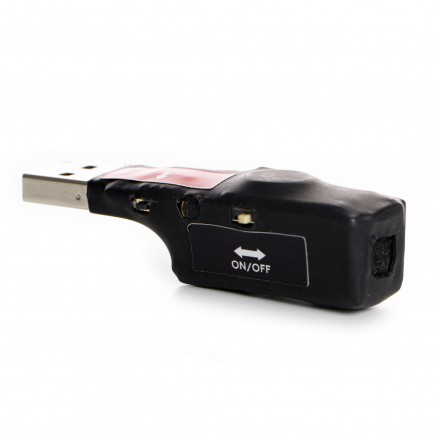 Micro Reportofon Spion Profesional 140 ore - Activare Vocala - Bullet VCR 6 [S1H-C]
