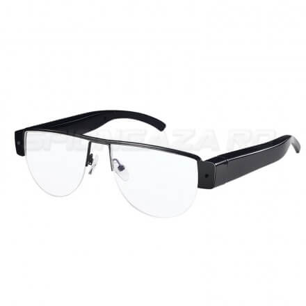 Ochelari Slim Cu Camera Spion 1080P 32GB Clasic - [VR2]