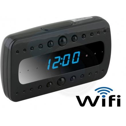 Ceas cu Microcamera Spion Wi-Fi IP Black Pearl [BKP-WS]