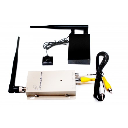 Nasture cu Camera Spion - Transmisie Video Wireless [PRO-PS6]