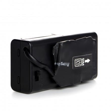 Microfon Spion GSM Profesional - Hi-Atom 6000mAh - Activare Vocala - Cea mai mare autonomie [PJ5]