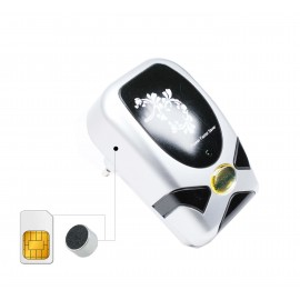 Microfon Spion GSM Profesional Integrat in Economizator Energie Electrica 19kw [LG41-18]