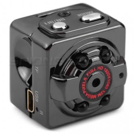 Mini Camera Auto Full 1080P HD IR - DVR [SK18]