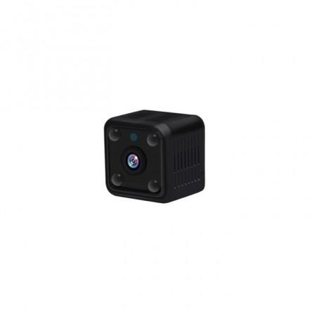 Camera De Supraveghere Smartech Self-Protect Wifi - NightVision - Senzor de Miscare - Alarmare - 64GB - 720 HD - Unghi De Vizualizare Extins - Monitorizare in Timp real - Instalare Rapida [H17]