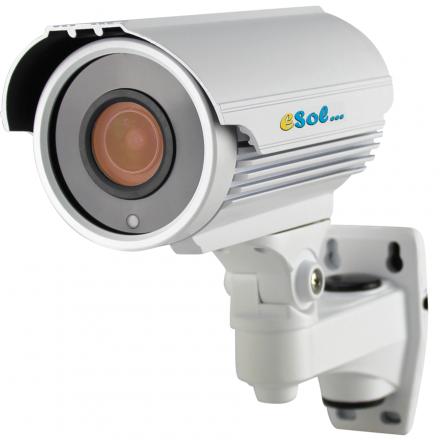 Camera de Exterior cu Carcasa Metalica - 4MP - lentila 6-22mm [ESV500/40A]
