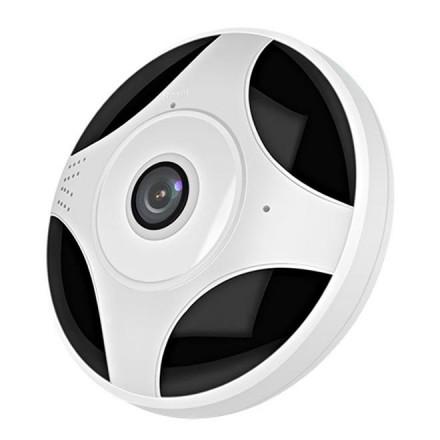 Camera De Supraveghere Smartech Self-Protect Wifi - Panoramica 360 - NightVision  - Alarmare - 64GB - HD - Monitorizare in Timp real - Instalare Rapida [H19]