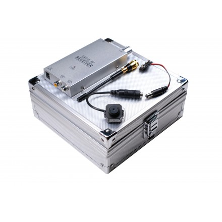 Kit Microcamera Spion + Receptor Wireless RCA [K7]