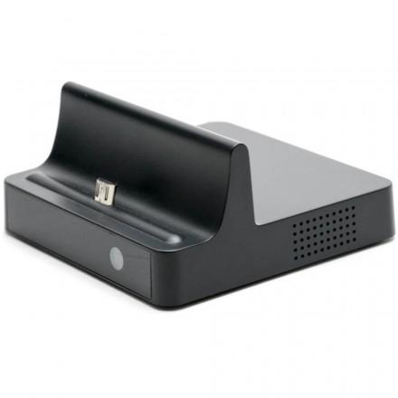 Dock Reincarcare Android cu Microcamera Spion + Telecomanda [SP008]