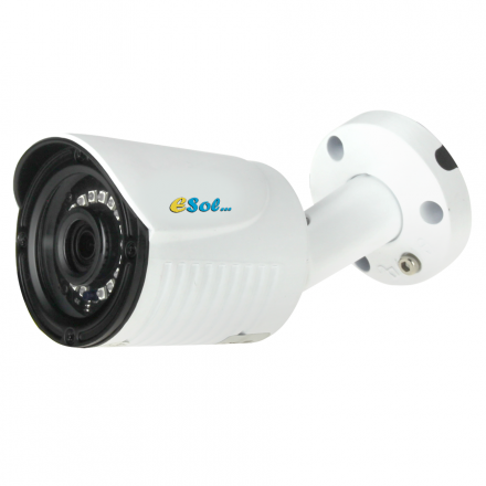 Camera de Exterior cu Carcasa Metalica - 5 MP - lentila 2.8mm [ES500/20A]