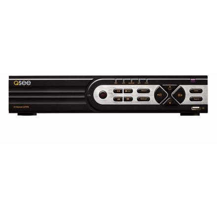 Unitate DVR Hibrid 8 Canale Analogic & SDI Qsee [QTH608]